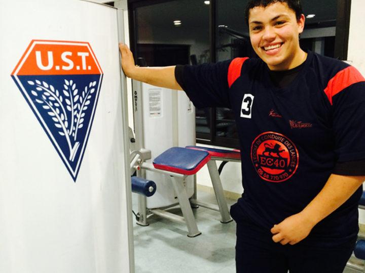 Interview de Kevan Tacite, joueur à l'UST et ancien élève