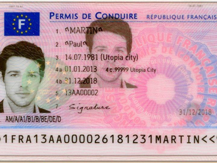 Le nouveau permis de conduire sécurisé